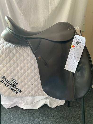 "#1006 18"" Wychanger Dressage Saddle M/W Brown"