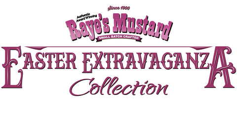 Easter extravaganza collection limited edition rayes mustard our free shipping easter ultimate mustard collection includes some great flavors that will make your easter dinner delicious those flavors include brown negle Image collections