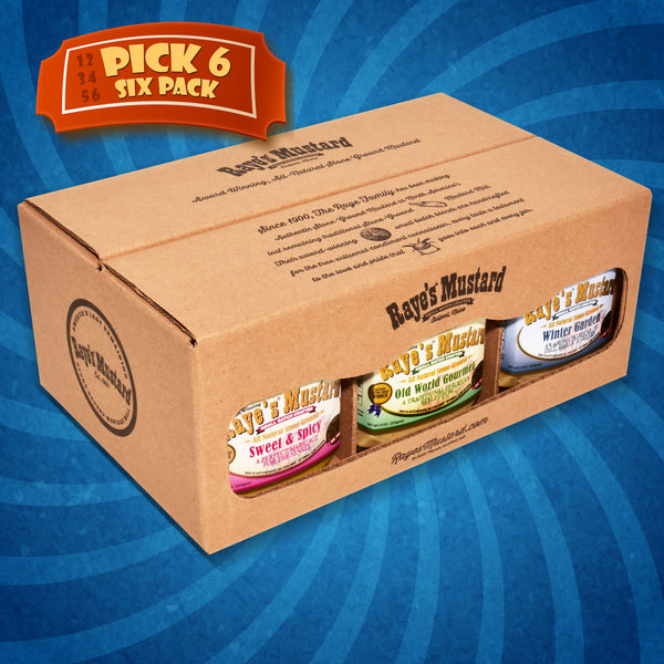 """Pick 6"" Six Pack - with FREE Shipping - Customize Your Own Gift Pack!!"