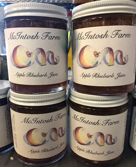 McIntosh Farms-Apple Rhubarb Jam