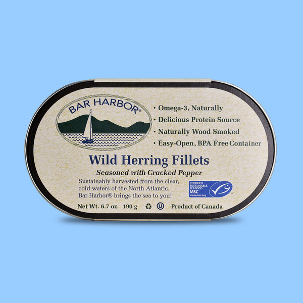 Bar Harbor Foods - Herring in Cracked Pepper