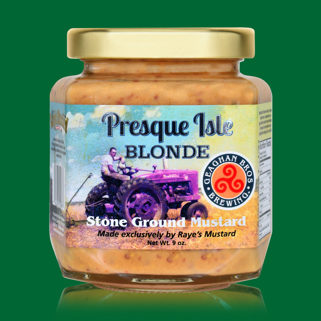 Geaghan's Presque Isle Honey Blonde Beer Mustard