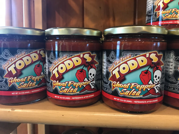 Todd's Salsa - Ghost Pepper!