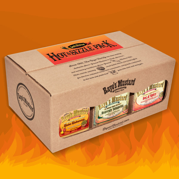 Hot & Sizzle Six Pack-with FREE SHIPPING!