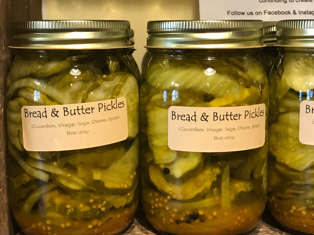 Pickles - Bread & Butter