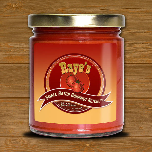 *Raye's Small Batch Gourmet Ketchup
