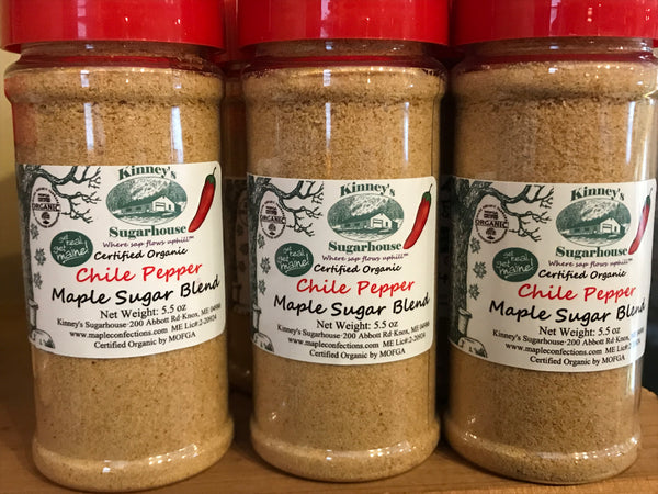 Kinney's Chile Pepper Maple Sugar Blend