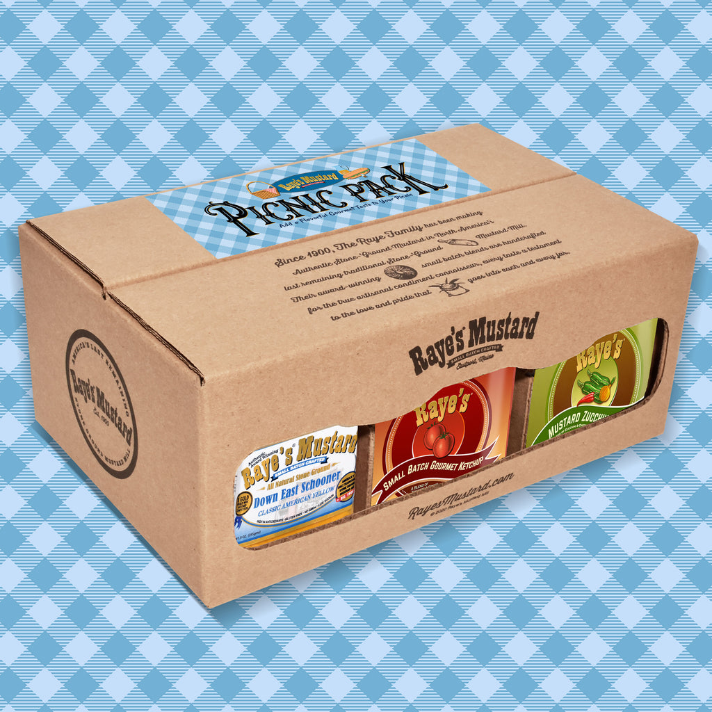 Raye's Picnic Six Pack with FREE SHIPPING!