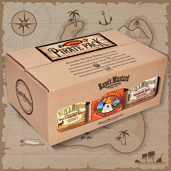 Pirate Six Pack-with FREE SHIPPING!