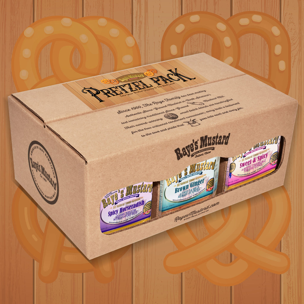 Pretzel Six Pack-with FREE SHIPPING!