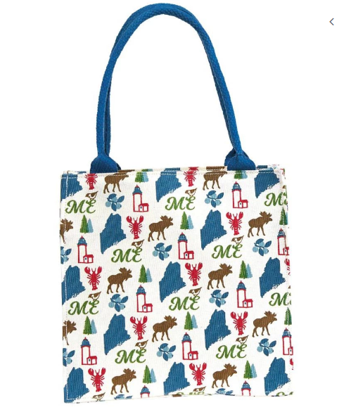 Maine Tote Bag