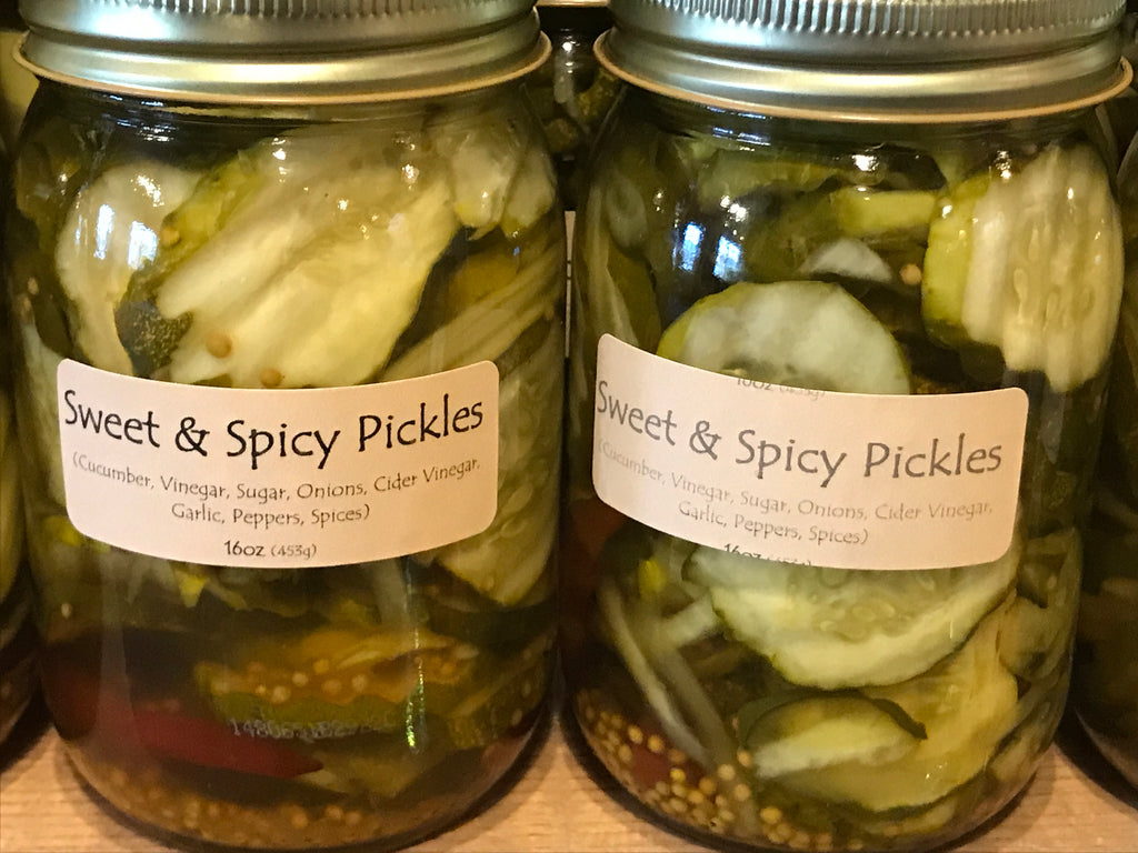 Pickles - Sweet & Spicy