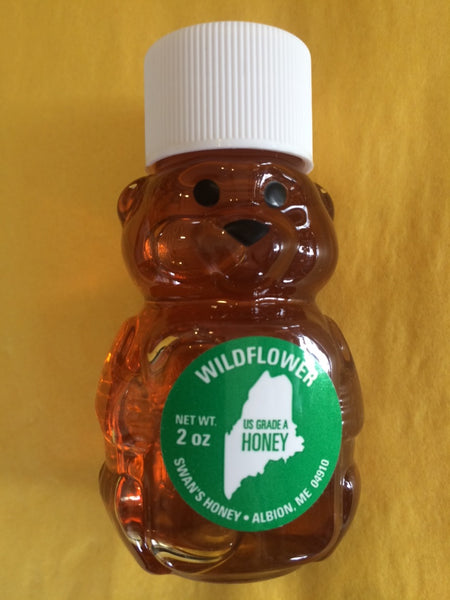 Swan's Wildflower Honey Bear