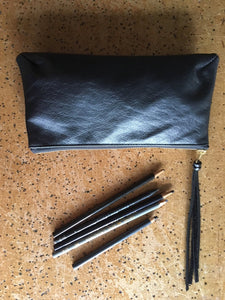 CHAPLEAU leather pencil case