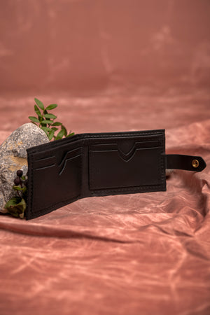 ST-JOSEPH minimalist bifold leather wallet