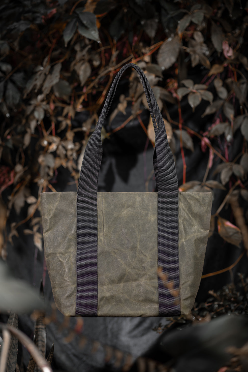 ROSEMONT waxed canvas tote bag
