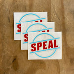 Speal Sticker