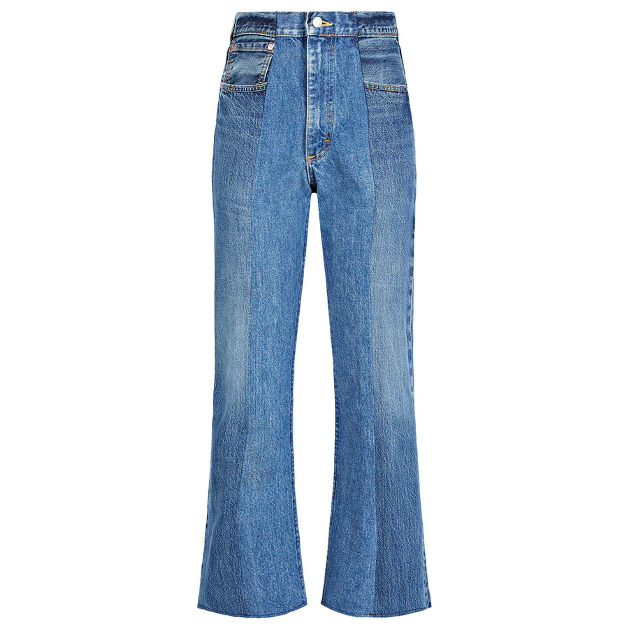 Mid Blue Match Flare Jean