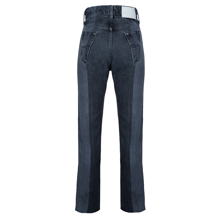 Grey Match Straight Leg Jean