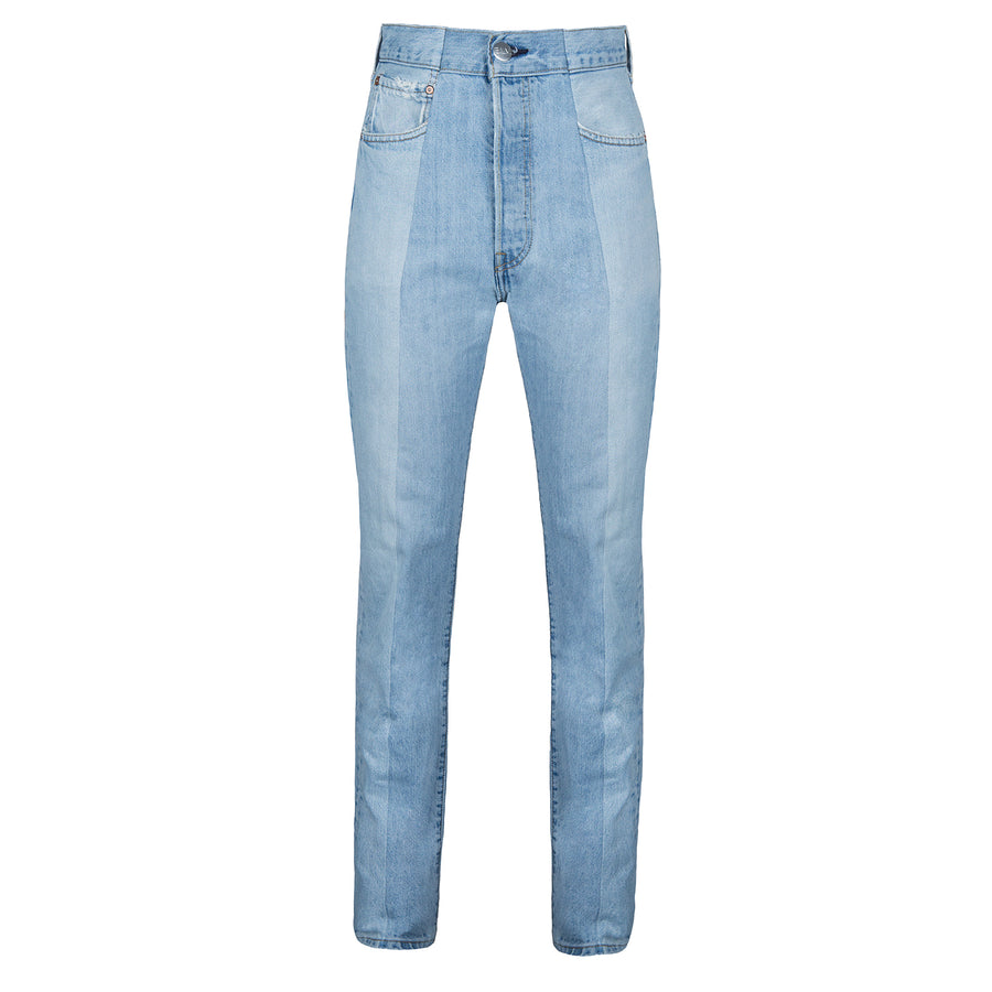 Light Blue Match Straight Leg Jean
