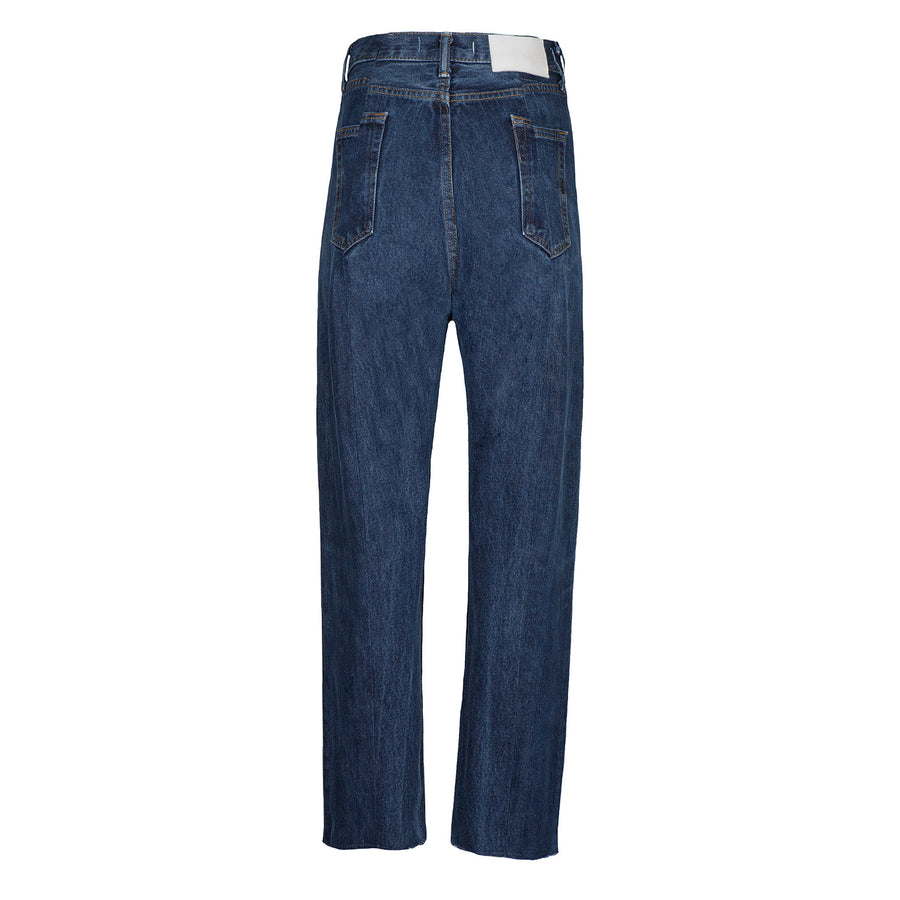 Dark Blue Match Boyfriend Jean