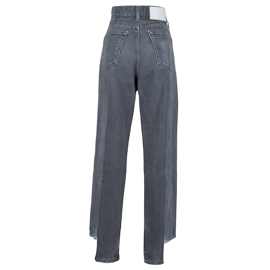 Grey Match Boyfriend Jean