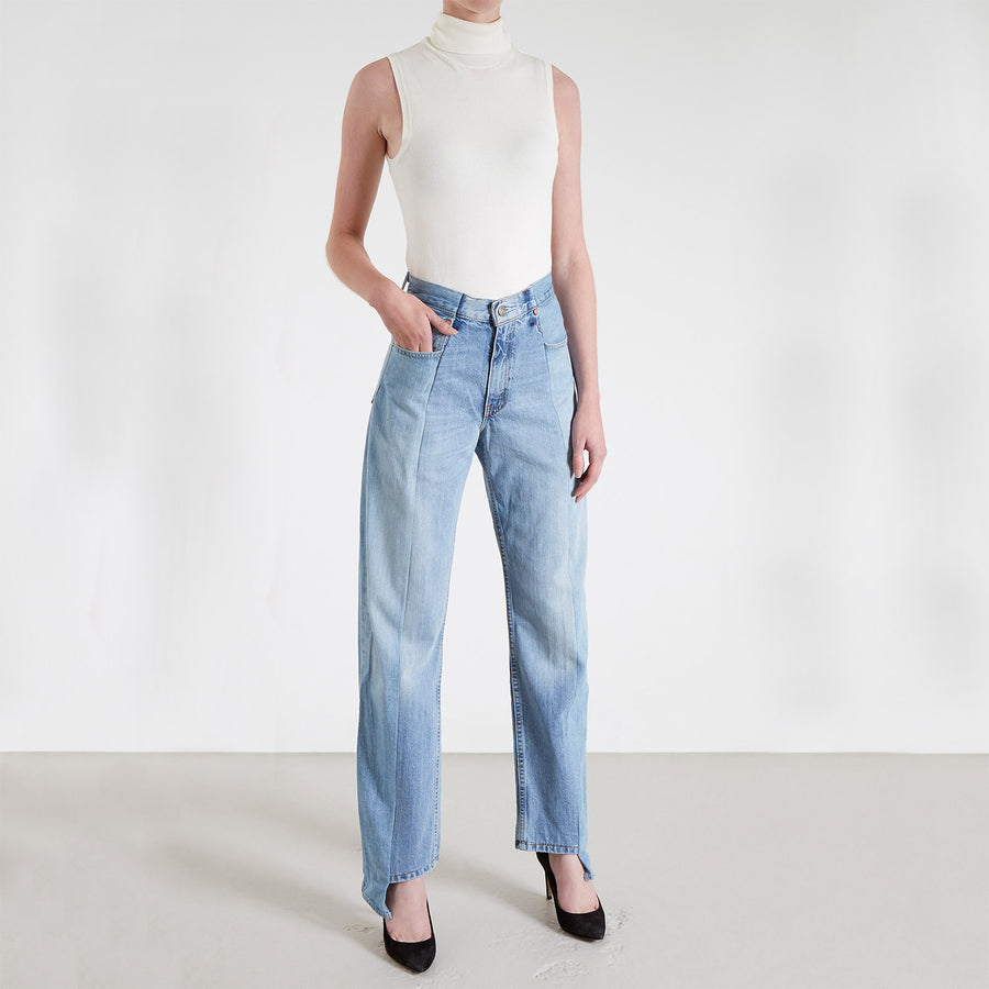 Light Blue Match Boyfriend Jean