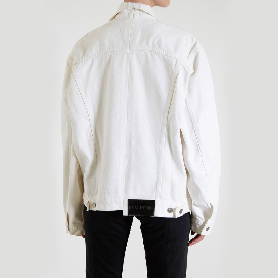 White Match Jacket