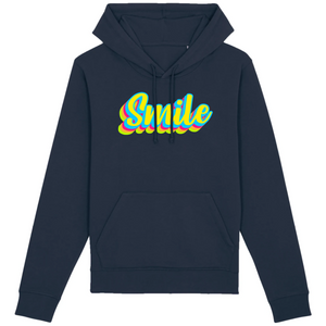 Sweat-shirt bio smile marine