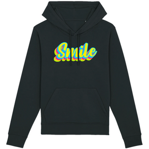 Sweat-shirt bio smile noir