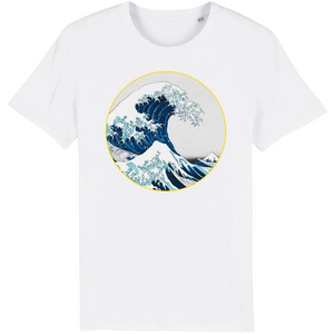 tee shirt homme bio vague blanc
