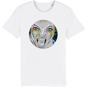 T-shirt homme original bio monster blanc