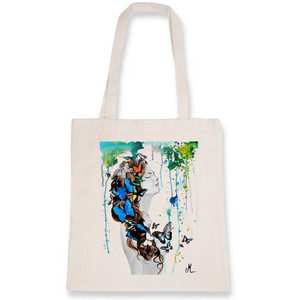 Tote bag art sweat paradise