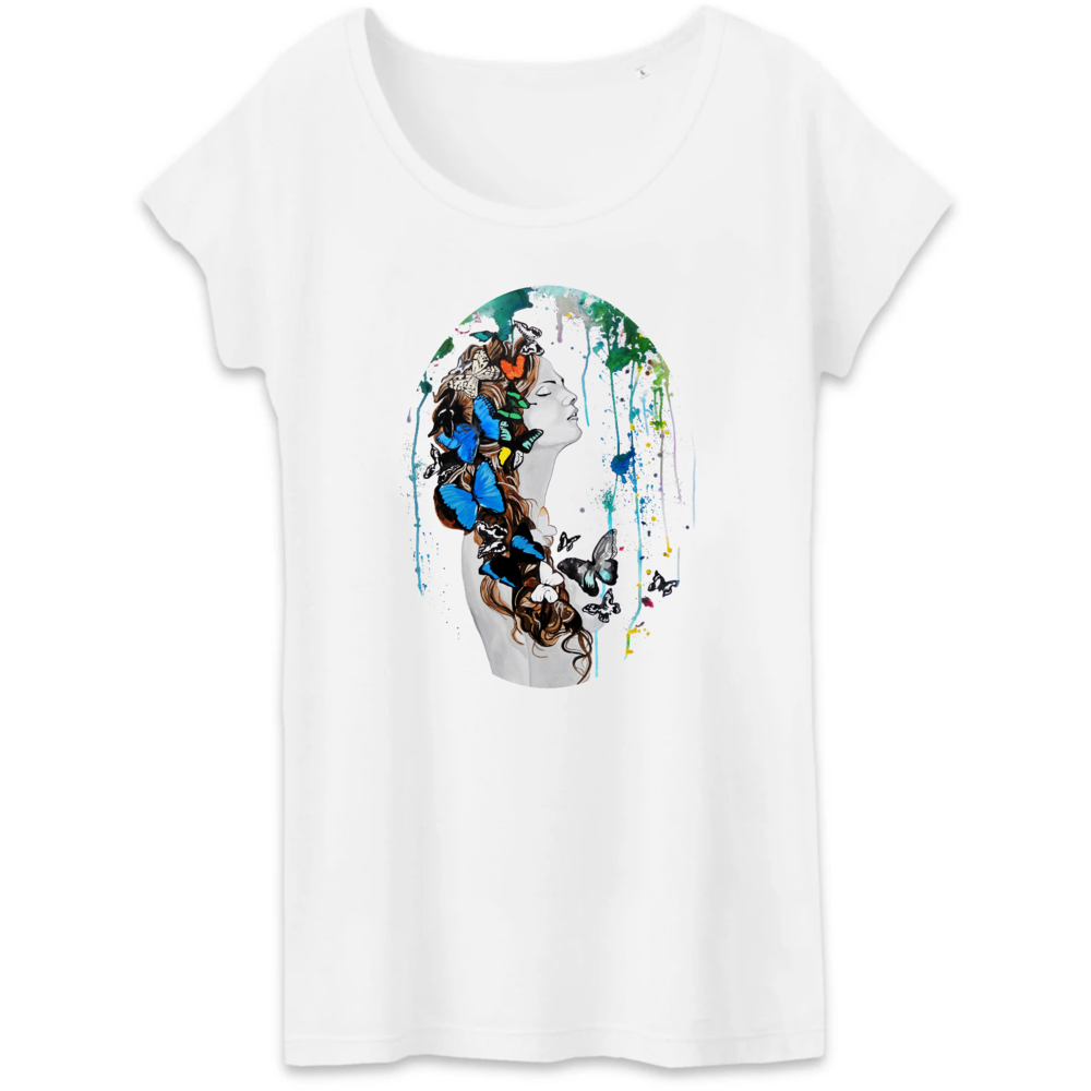 T-shirt femme original sweat paradise
