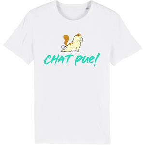 Tee-shirt humour chat