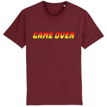 Charger l'image dans la galerie, T-shirt homme coton bio game over bordeaux
