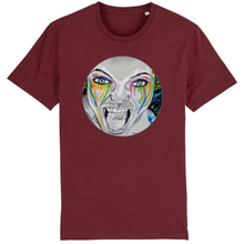 Charger l'image dans la galerie, T-shirt homme original bio monster bordeaux
