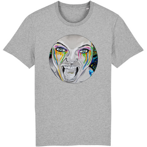 T-shirt homme original bio monster gris
