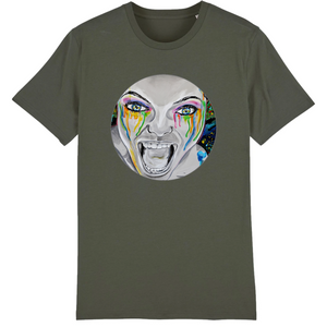 T-shirt homme original bio monster kaki