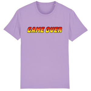 T-shirt homme coton bio game over parme