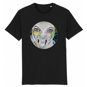 T-shirt homme original bio monster noir