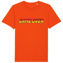 Charger l'image dans la galerie, T-shirt homme coton bio game over orange