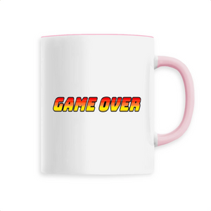 Mug en céramique game over