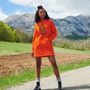robe-sweat-shirt-bio-original-tatouage-biche