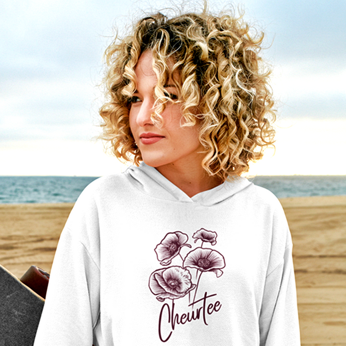 sweat-shirt-bio-ethique-fleur-nature-coquelicot-mode-durable