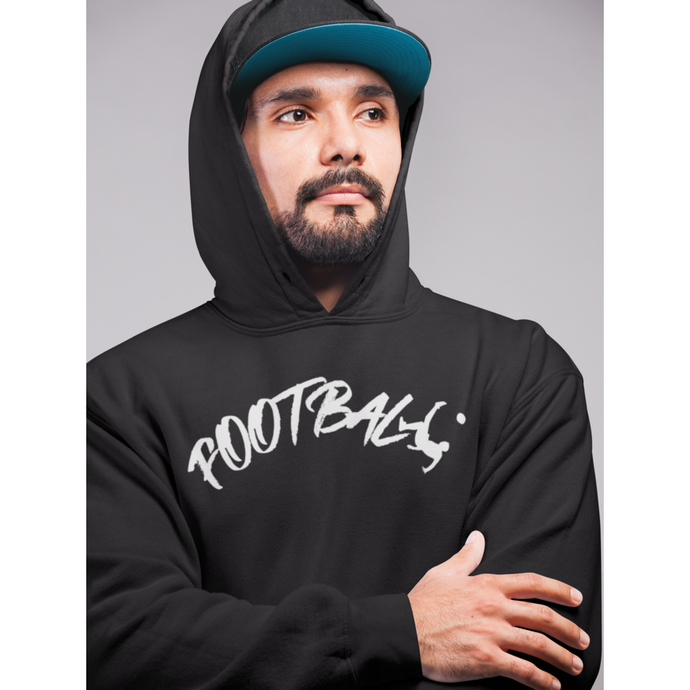 Sweat-shirt à capuche bio football