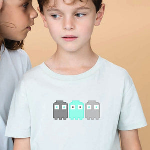 tee-shirt-bio-enfant-pixel-fantome-jeux-video