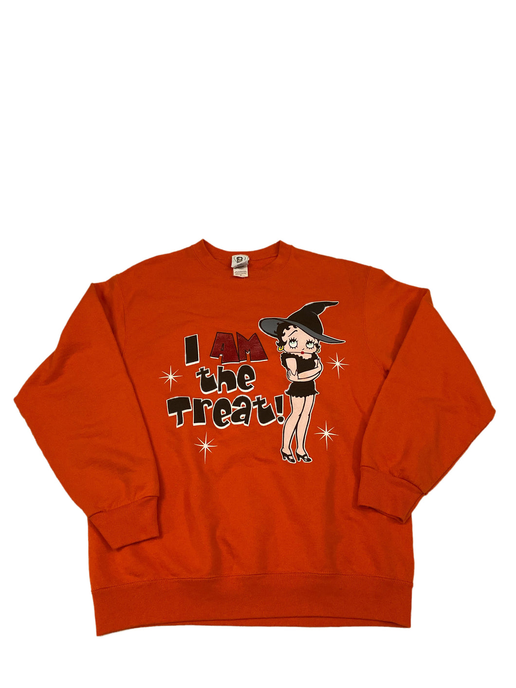 Betty Boop I'm the Treat Crewneck
