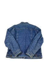 Load image into Gallery viewer, Gap Flannel Lined Denim Jacket