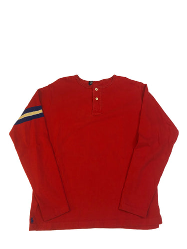 Polo Henley Long Sleeve